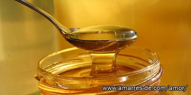 Amarre con miel